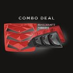 2016-21 CAMARO 6TH GEN BAKKDRAFT COMBO DEAL