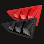 2016-21 CAMARO 6TH GEN BAKKDRAFT QUARTER WINDOW LOUVERS X2 (PAIR)