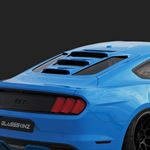 2015-21 MUSTANG S550 TEKNO 2 REAR WINDOW VALANCE / LOUVERS