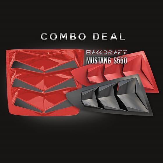 2015-21 MUSTANG S550 BAKKDRAFT COMBO DEAL
